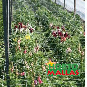 malla tutora para cultivo de flores